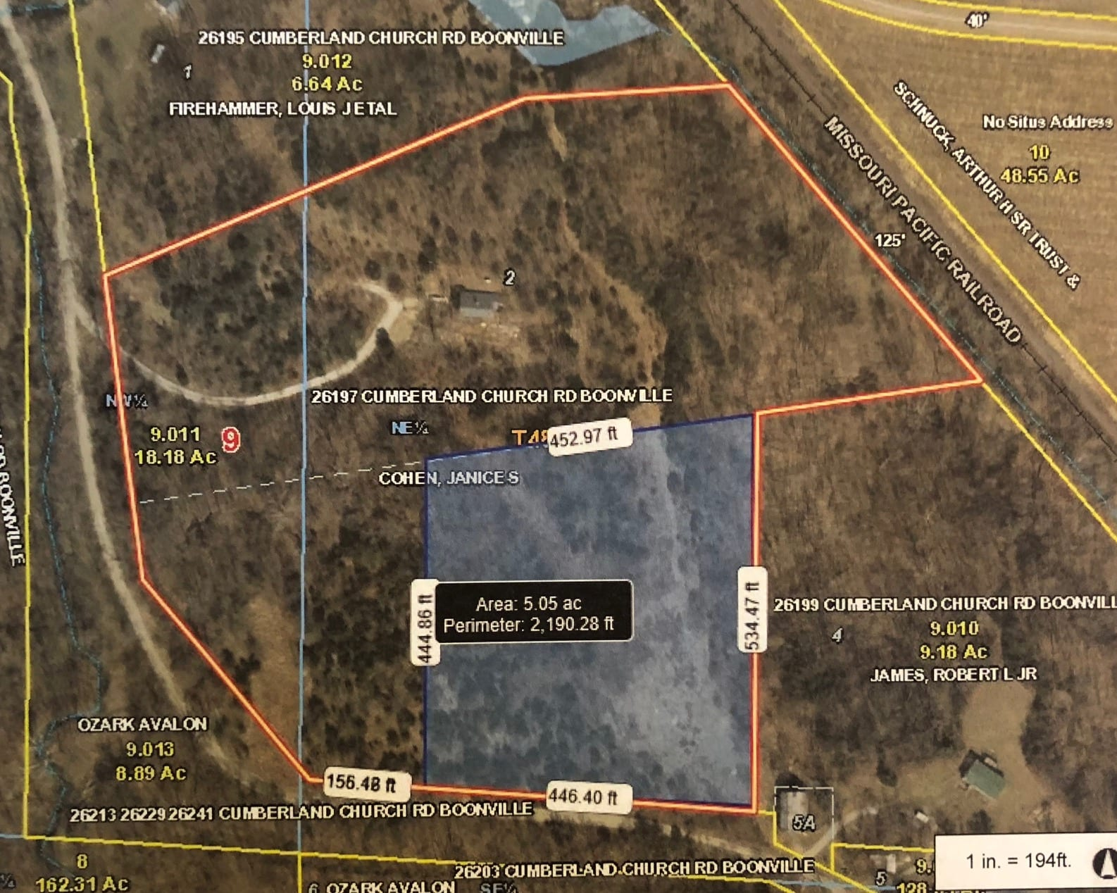 $35,000.00…….5.25 Acres, more or less,