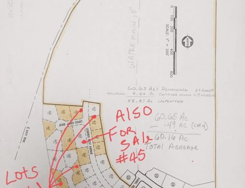 New Subdivision: 7-lots available