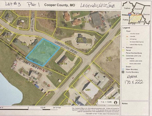 $199,900.00….Commercial Lot, Legends West Ave, Boonville, MO 65233